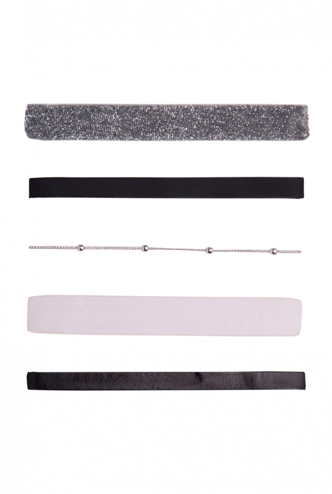 Choker Set 5er-Pack
