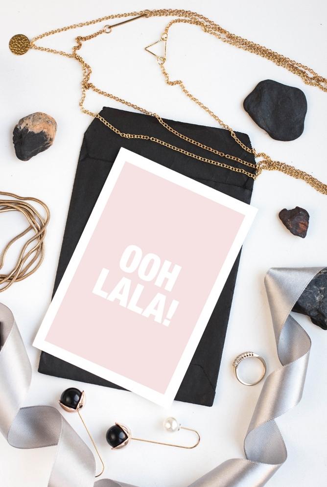 Postkarten Ooh Lala!