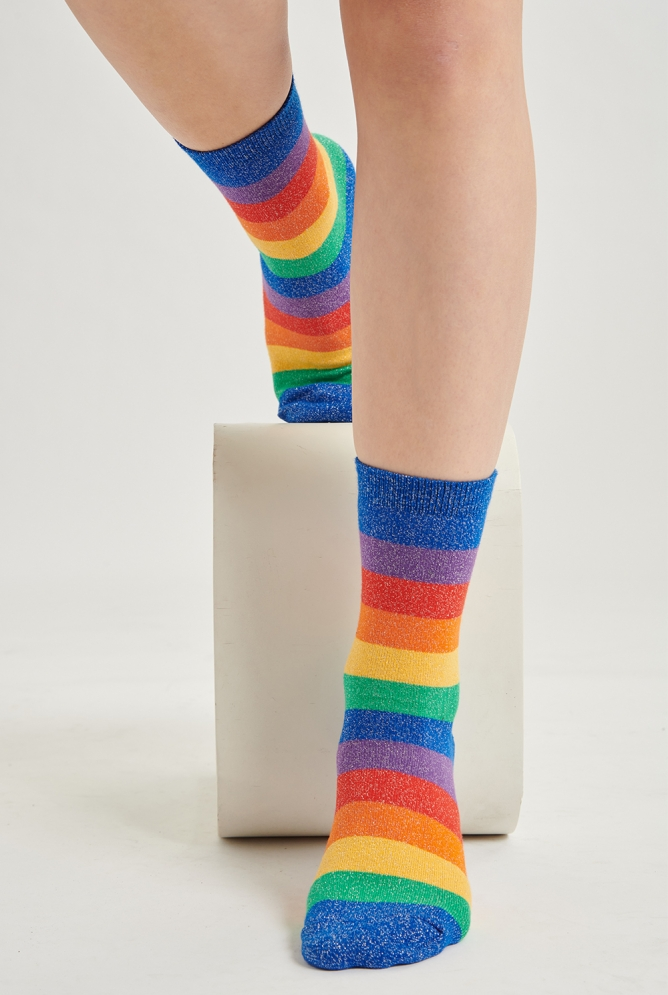 Socken gestreift