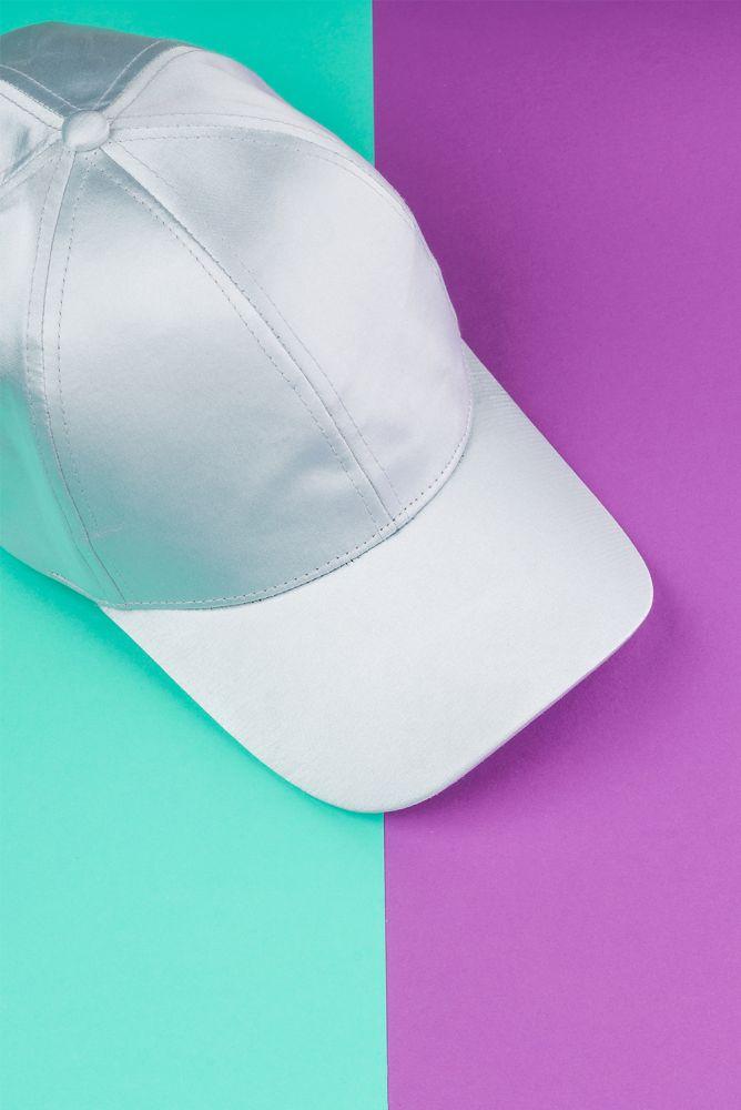 Kappe hellblau