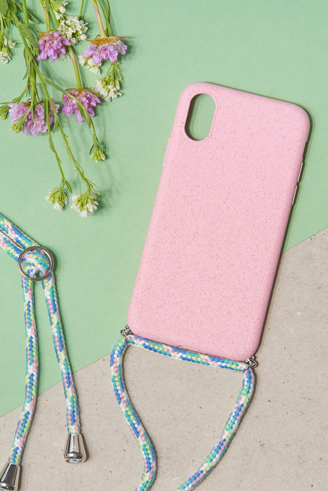 Handykette pink iPhone XS/X