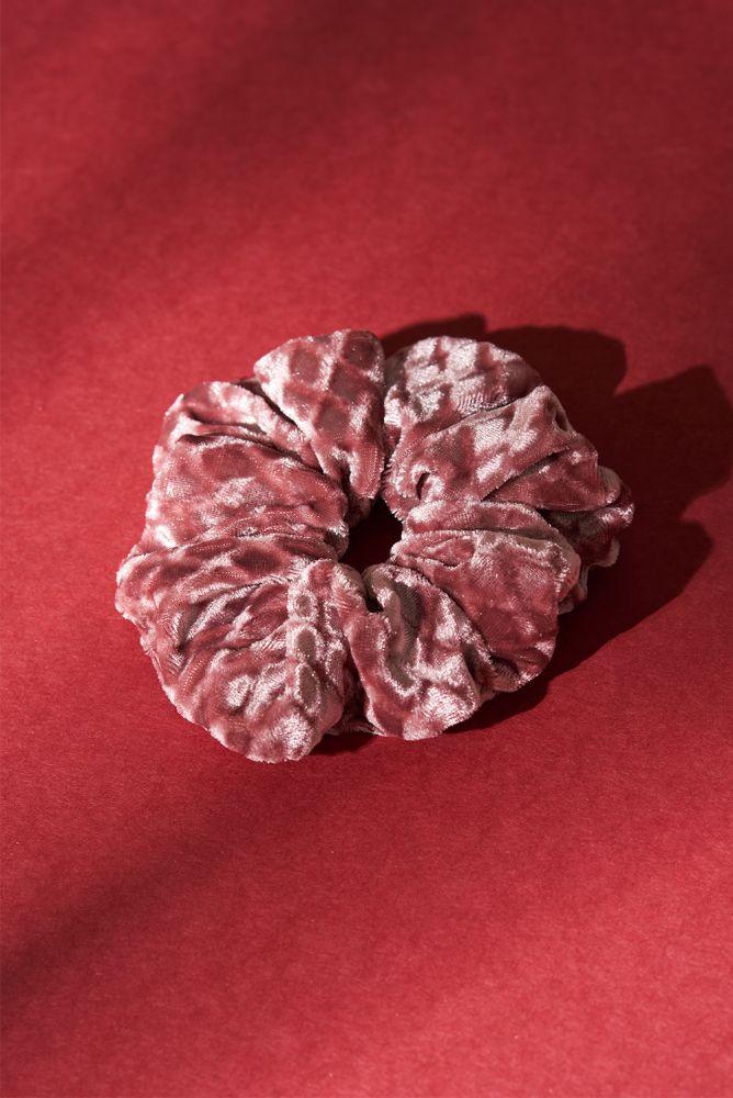 Scrunchie - rosafarbener Scrunchie