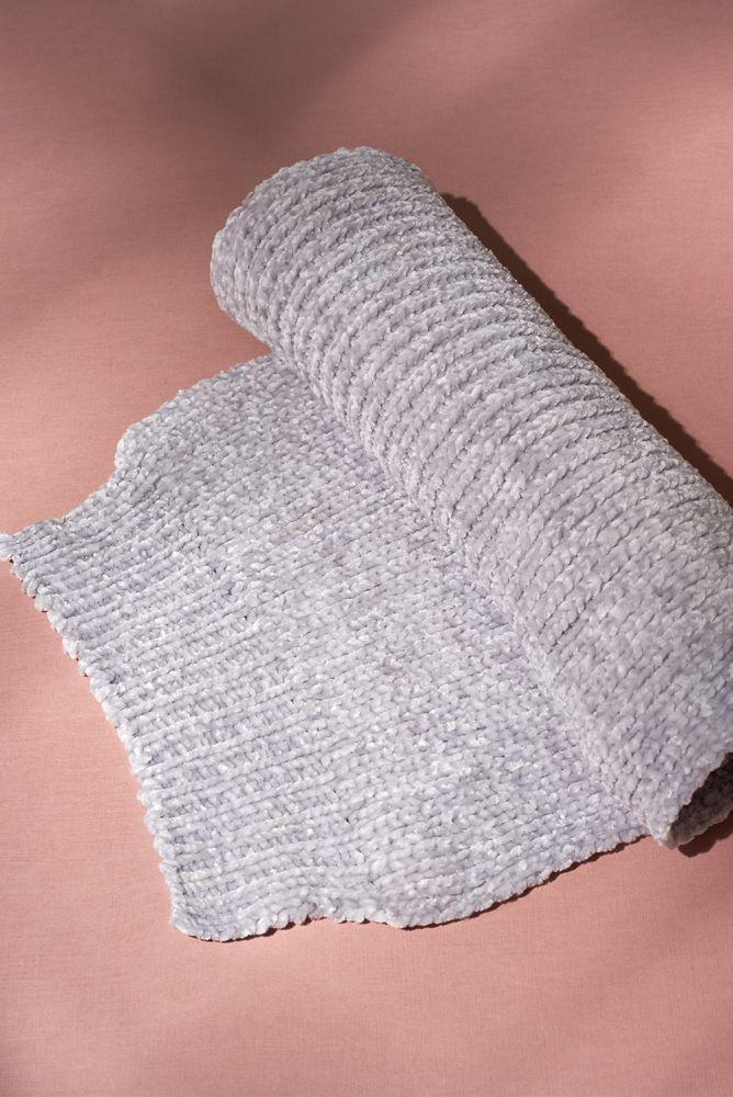 Schal - weicher grauer Schal