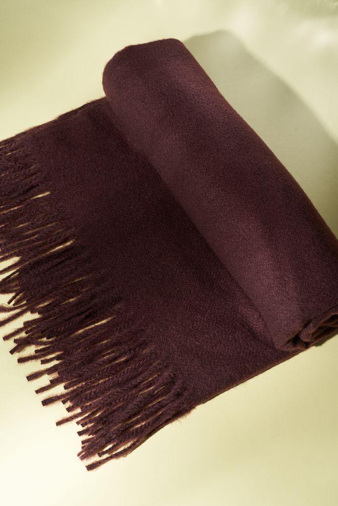 Schal - großer roter Schal