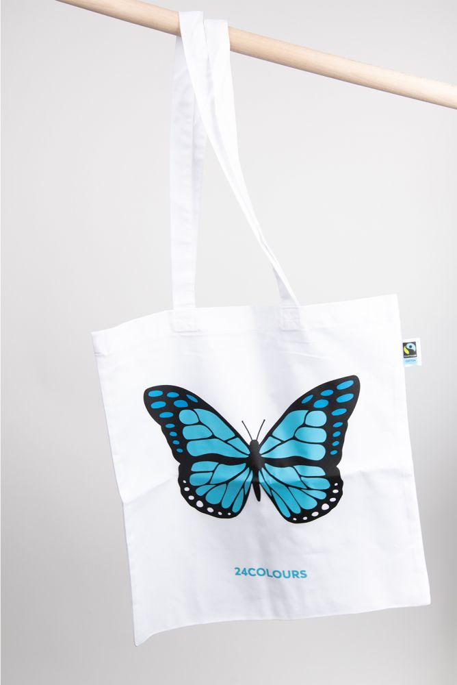 Jutebeutel Schmetterling