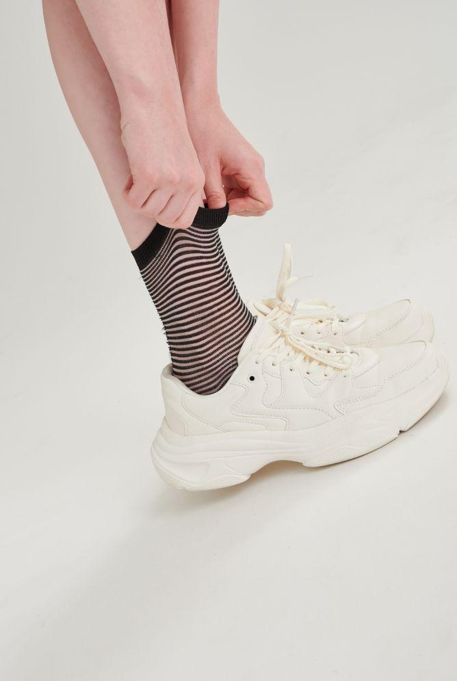 Socken geringelt