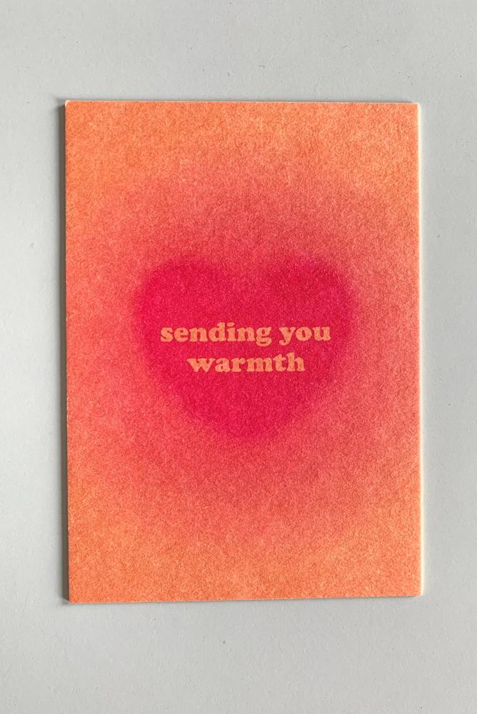 Postkarte Warmth